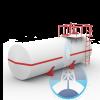 Резервуары горизонтальные стальные РГС (наземные / подземные)