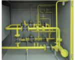 «Оптимус» с основной и резервной линиями редуцирования с узлом учета расхода газа