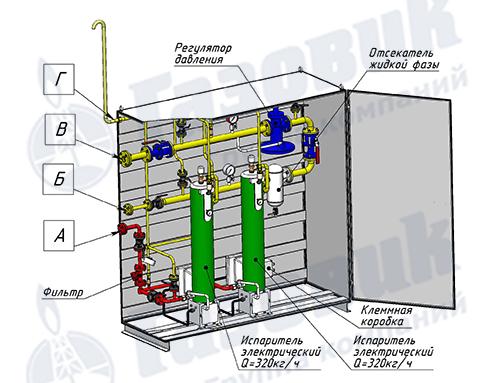 Схема испарителя Propan 1-1-640